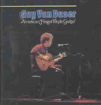 AMERICAN FINGER STYLE GUITAR BY VAN DUSER,GUY (CD)
