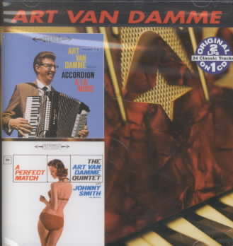 ACCORDION ALA MODE/A PERFECT MATCH BY VAN DAMME,ART (CD)